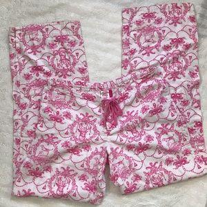 Victoria's Secret Flannel Toile PJ Pants